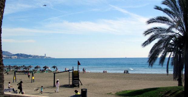 Playas en Málaga