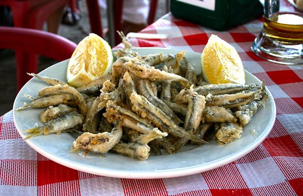 Recetas: Fritura de pescado