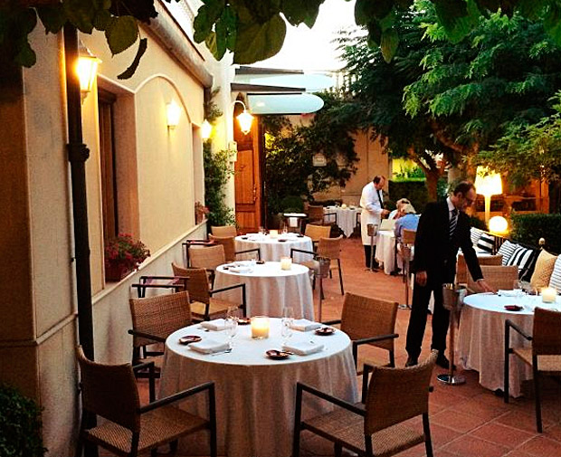 Terraza del Restaurante L'Escaleta